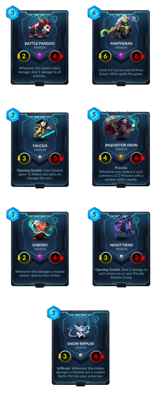 Duelyst - Shim'Zar Previews