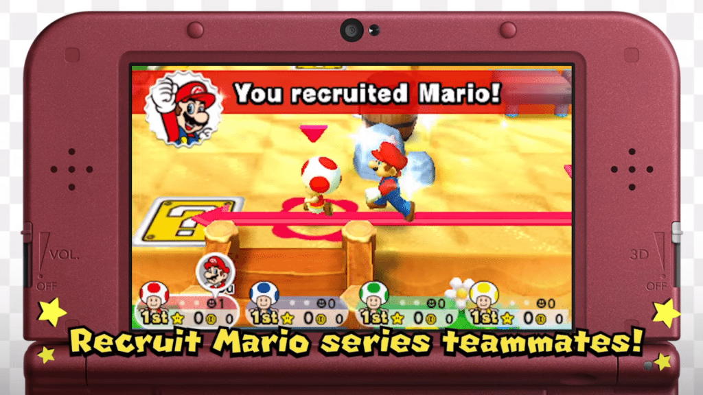 Mario Party Star Rush - Recruit