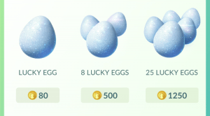 Pokemon GO - Lucky Eggs