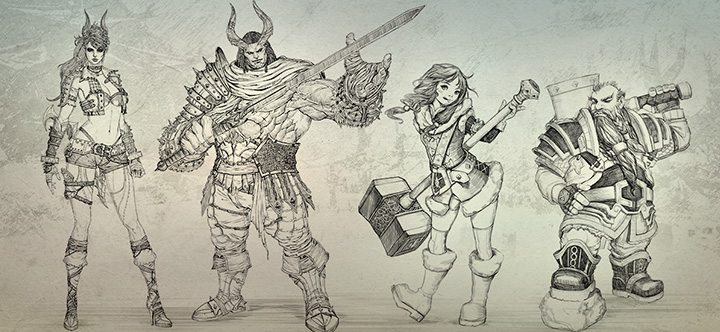 ArcheAge Revelation concept art
