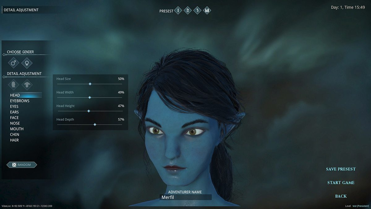 details released on dark and light character creation mmoexaminer