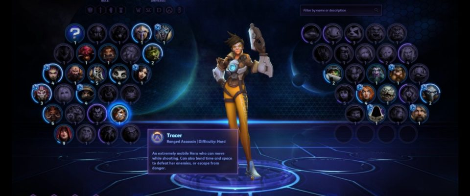 Heroes Of The Storm roster