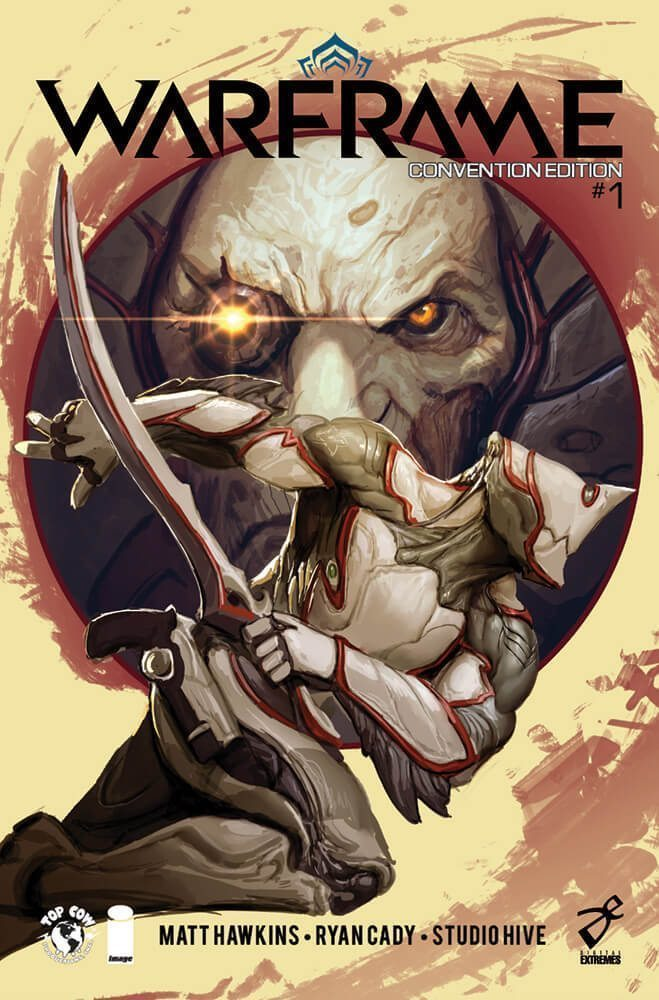 Warframe Comic Issue 1 Cover