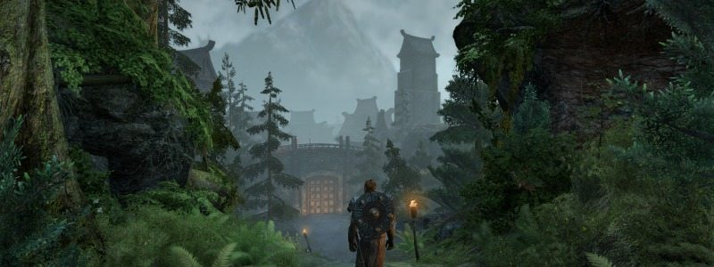 Elder Scrolls Online Horns of the Reach Falkreath Hold Gate
