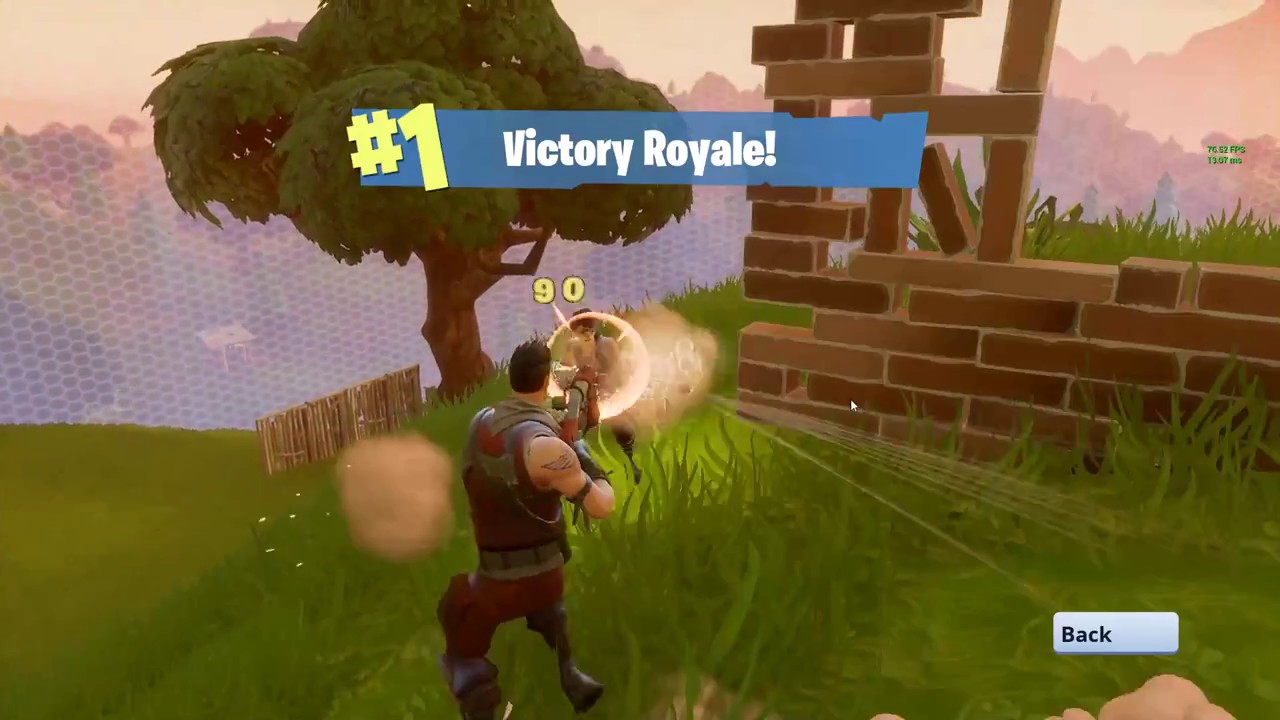 how to make fortnite run slow on pc
